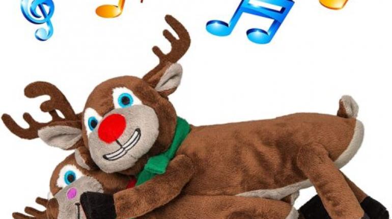 Costume Agent Christmas Funny Animated Plushy Humping Reindeer Plush Stuffed Animal
