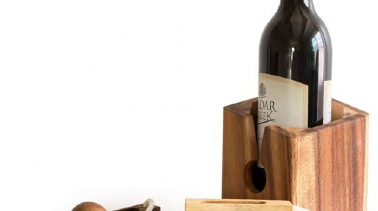 Gifts Wine Bottle Puzzles Games for Adults Party